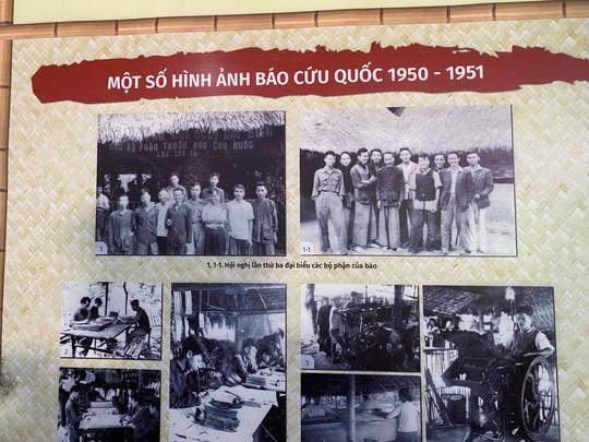 Trưng bày, tọa đàm báo chí Việt Nam 1946-1954: Từ Hà Nội đến chiến khu Việt Bắc - Ảnh 5.