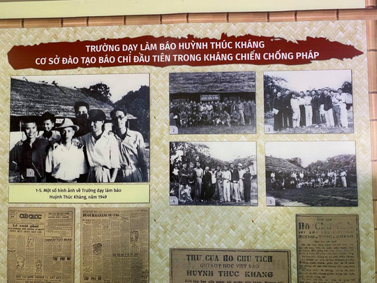 Trưng bày, tọa đàm báo chí Việt Nam 1946-1954: Từ Hà Nội đến chiến khu Việt Bắc - Ảnh 4.