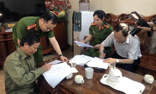 Khởi tố nguyên trưởng ban Dân tộc tỉnh Nghệ An - Ảnh 1.