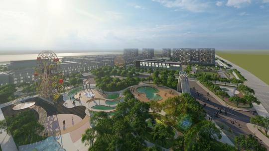 Sự đồng bộ và nhất quán của dự án The New City - Ảnh 1.