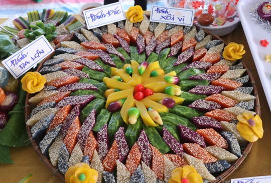 """Đặc sắc bánh """"phu thê"""" thể hiện chủ quyền biển đảo Việt Nam - Ảnh 4."""