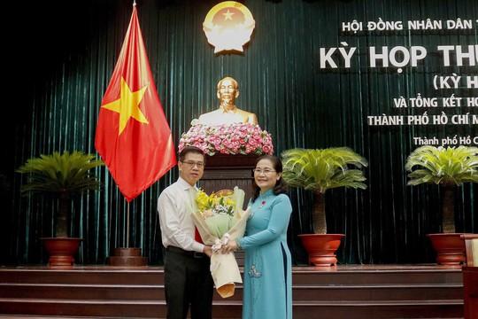Chủ tịch UBND quận 1 làm Phó Chủ tịch HĐND TP HCM - Ảnh 1.