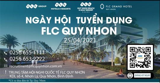 FLC Quy Nhơn tiếp tục tuyển dụng lớn tại tại Bình Định - Ảnh 1.
