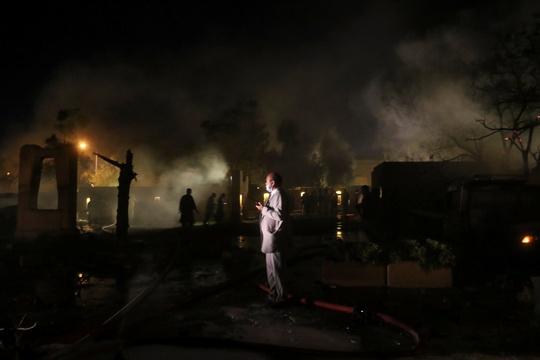 Pakistan: Đánh bom khách sạn có Đại sứ Trung Quốc - Ảnh 1.