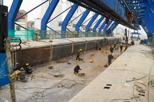 CLIP: Đại công trường đường Vành đai 2 gần 10.000 tỉ đồng đang gấp rút hoàn thành - Ảnh 7.