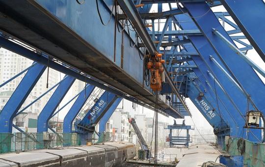 CLIP: Đại công trường đường Vành đai 2 gần 10.000 tỉ đồng đang gấp rút hoàn thành - Ảnh 9.