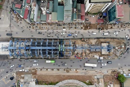 CLIP: Đại công trường đường Vành đai 2 gần 10.000 tỉ đồng đang gấp rút hoàn thành - Ảnh 5.