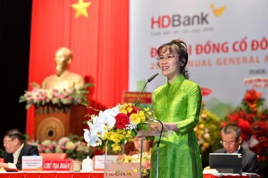 Bà Nguyễn Thị Phương Thảo lý giải việc HDBank không chia cổ tức bằng tiền - Ảnh 1.