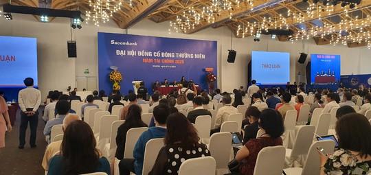 Ông Dương Công Minh giải thích vì sao Sacombank 4 năm chưa chia cổ tức - Ảnh 1.