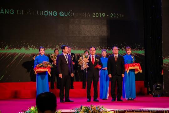 C.P. Việt Nam đạt Giải vàng Chất lượng Quốc gia năm 2020 - Ảnh 1.