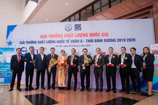 C.P. Việt Nam đạt Giải vàng Chất lượng Quốc gia năm 2020 - Ảnh 2.