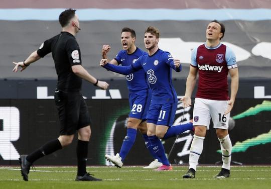 Werner lập công sau 70 ngày, Chelsea bay cao Top 4 Ngoại hạng Anh - Ảnh 4.