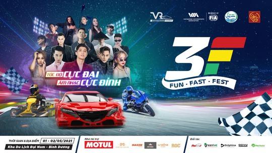 Fun Fast Fest - Đại lễ hội đua xe tốc độ, âm nhạc và giải trí lần đầu có mặt tại Việt Nam - Ảnh 1.