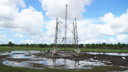 Dốc sức hoàn thành đường dây 220kV Kiên Bình - Phú Quốc - Ảnh 5.