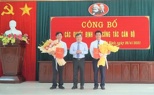Nhân sự ở Quảng Bình: Chỉ định ông Trần Quốc Tuấn làm Bí thư huyện ủy Quảng Ninh - Ảnh 1.