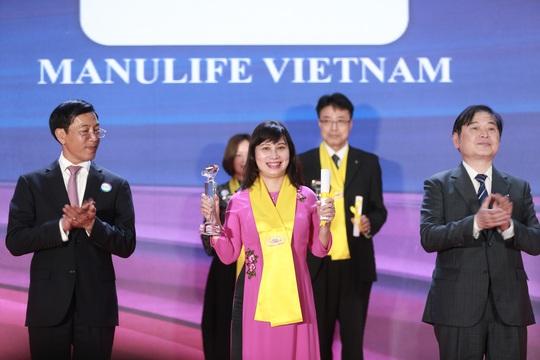 Manulife Việt Nam nhận giải thưởng Rồng Vàng - Ảnh 1.
