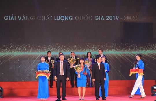 Sanvinest Khánh Hòa được tôn vinh Giải Vàng Chất lượng Quốc gia - Ảnh 1.