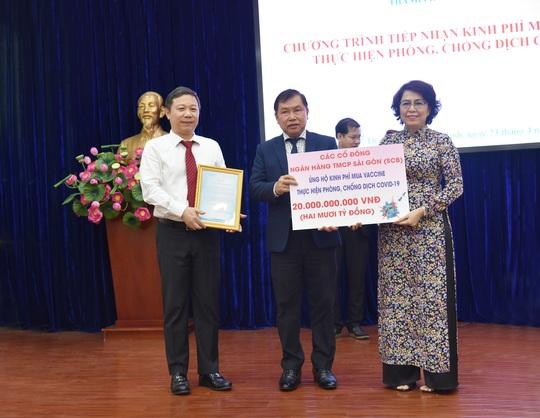 Cổ đông SCB ủng hộ 20 tỉ đồng cho Quỹ Phòng, chống dịch Covid-19 TP HCM - Ảnh 1.