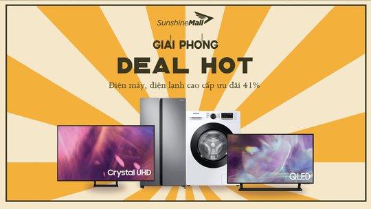 Mừng đại lễ, Sunshine Mall tung deal khủng, cơ hội nhận ưu đãi hơn 10 triệu đồng - Ảnh 1.