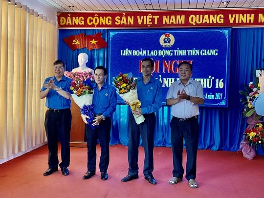 Ông Lê Minh Hùng được bầu làm Chủ tịch LĐLĐ tỉnh Tiền Giang - Ảnh 1.