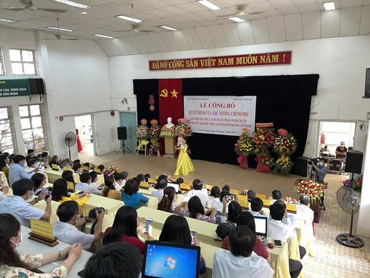 Sáp nhập Trường CĐ Sư phạm Ninh Thuận vào Trường ĐH Nông lâm TP HCM - Ảnh 1.
