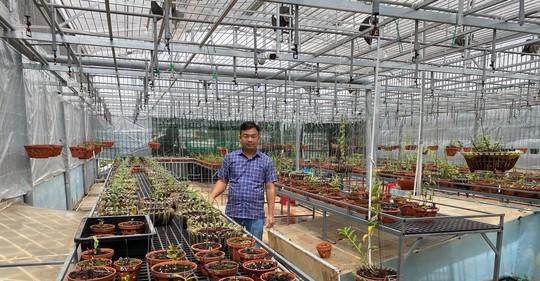 Ông chủ vườn lan Phạm Đình Đô chia sẻ về giá trị lan đột biến - Ảnh 6.