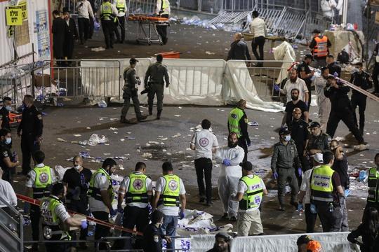 Israel: Hàng chục người thiệt mạng vì giẫm đạp tại lễ hội tôn giáo - Ảnh 2.