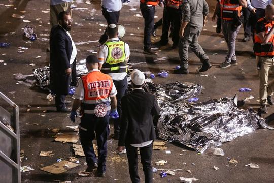 Israel: Hàng chục người thiệt mạng vì giẫm đạp tại lễ hội tôn giáo - Ảnh 3.