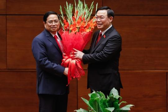 Thủ tướng Phạm Minh Chính: Nguyện mang hết sức mình vượt qua mọi khó khăn, thách thức - Ảnh 4.