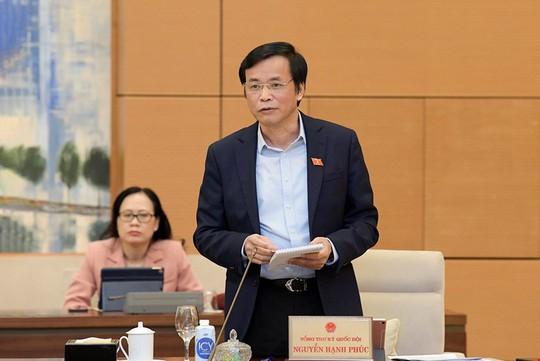 Trình miễn nhiệm Tổng Thư ký Quốc hội, Tổng Kiểm toán Nhà nước - Ảnh 1.