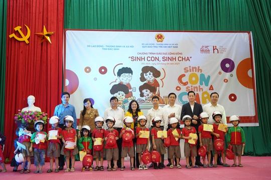 Chương trình giáo dục cộng đồng Sinh Con, Sinh Cha đến Bắc Ninh - Ảnh 1.