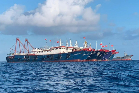 Trung Quốc thăm dò Tổng thống Biden bằng phép thử biển Đông - Ảnh 1.