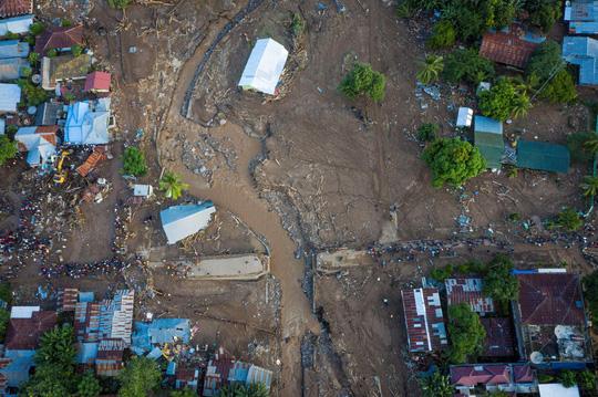 Indonesia: Lũ lụt và sạt lở kinh hoàng, ít nhất 119 người chết - Ảnh 1.
