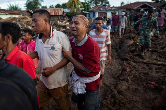 Indonesia: Lũ lụt và sạt lở kinh hoàng, ít nhất 119 người chết - Ảnh 2.