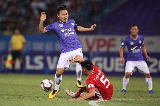 CLB Hà Nội và CLB Viettel: 2 thẻ đỏ, 1 bàn thắng - Ảnh 7.