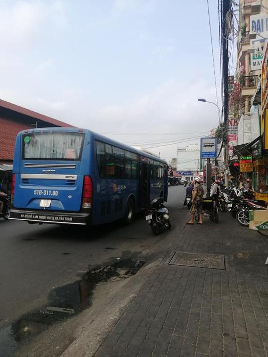 Sự thật xe buýt từ chối người khuyết tật ở TP HCM, gây dậy sóng mạng xã hội - Ảnh 1.