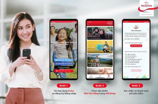 PRU-Vui Sống: Bảo hiểm trực tuyến cho 3 bệnh hiểm nghèo - Ảnh 2.