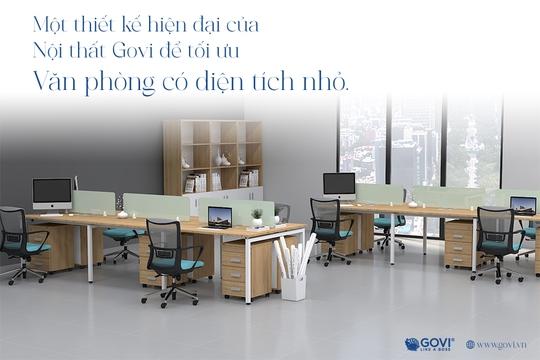 Nội thất văn phòng hiện đại Govi: Khi sáng tạo và sự đam mê là không giới hạn - Ảnh 2.