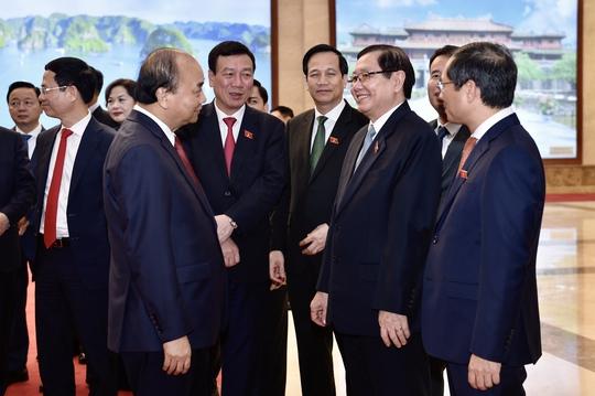 Chùm ảnh: Bàn giao công việc của Thủ tướng Chính phủ - Ảnh 12.