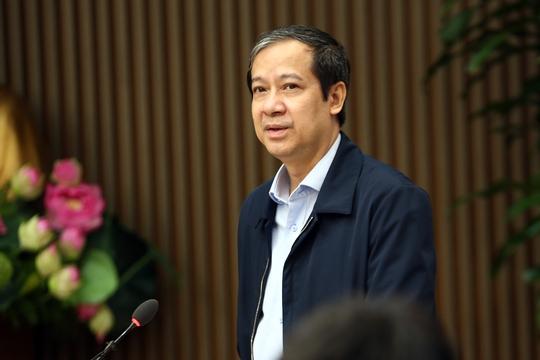 Tân Bộ trưởng Bộ GD-ĐT Nguyễn Kim Sơn khẳng định sẽ chuẩn bị tốt nhất cho kỳ thi tốt nghiệp THPT - Ảnh 1.