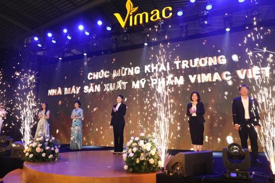 Vimac khai trương nhà máy sản xuất mỹ phẩm đạt chuẩn CGMP – ASEAN - Ảnh 1.