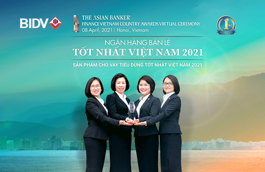BIDV nhận giải Ngân hàng bán lẻ tốt nhất Việt Nam lần thứ 6 - Ảnh 1.