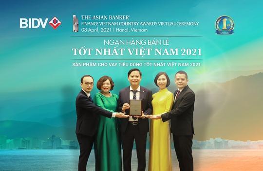 BIDV nhận giải Ngân hàng bán lẻ tốt nhất Việt Nam lần thứ 6 - Ảnh 2.
