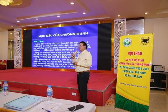 Canh tác lúa thông minh tại Đồng bằng Sông Cửu Long vụ Đông Xuân 2020-2021 - Ảnh 1.