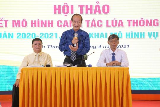 Canh tác lúa thông minh tại Đồng bằng Sông Cửu Long vụ Đông Xuân 2020-2021 - Ảnh 2.