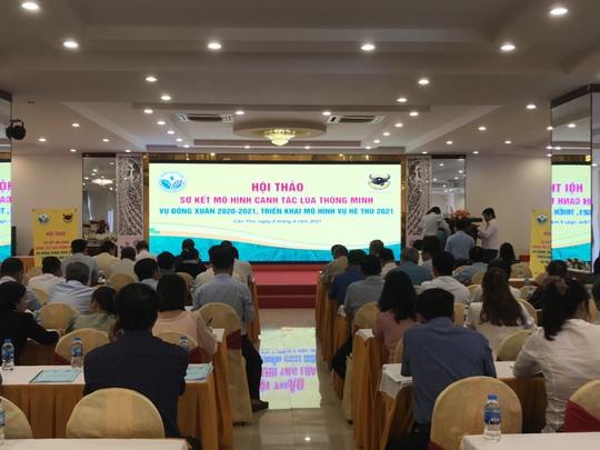 Canh tác lúa thông minh tại Đồng bằng Sông Cửu Long vụ Đông Xuân 2020-2021 - Ảnh 3.
