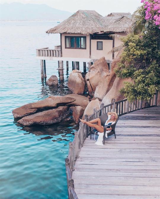 Check-in 4 cây cầu gỗ trên biển ở Việt Nam - Ảnh 8.