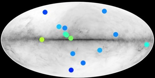 Sốc: 14 vật thể phản vật chất nấp trong thiên hà chứa Trái Đất - Ảnh 1.