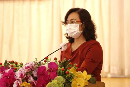 Phó Chủ tịch UBND TP HCM Phan Thị Thắng tiếp xúc cử tri quận Bình Thạnh - Ảnh 1.