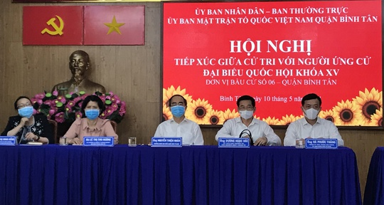 TP HCM: Cử tri mong ứng cử viên đừng để hết nhiệm kỳ còn mắc nợ dân - Ảnh 1.